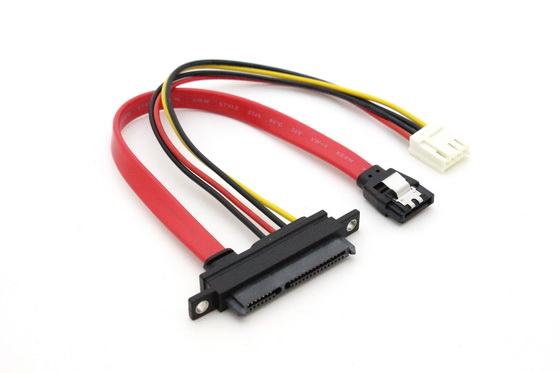 SATA 22pin Panel Mount Cable